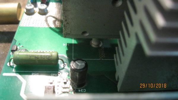 Ремонт Defort 160 обрыв резистора 2 Ком 5 ватт