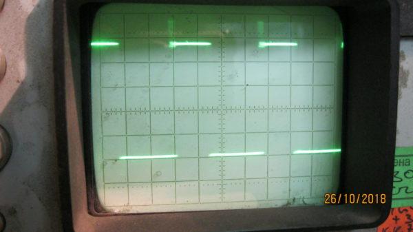 Правильная форма сигнала на ключевых транзисторах IGBT САИ РЕCАНТА 190 проф