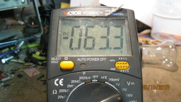 Выходное напряжение сварочного инвертора BRIMA ARC