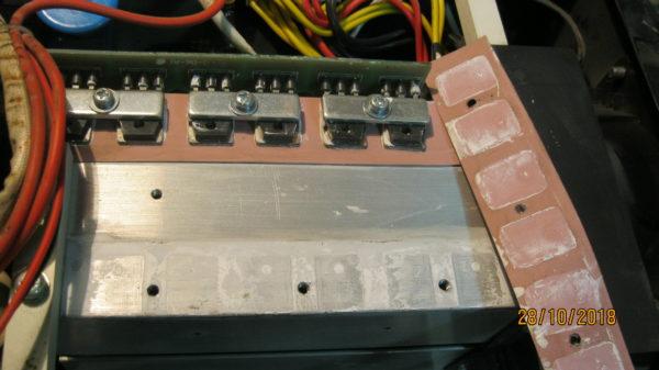 Силовые транзисторы сварочного аппарата FoXWeld Мастер 202