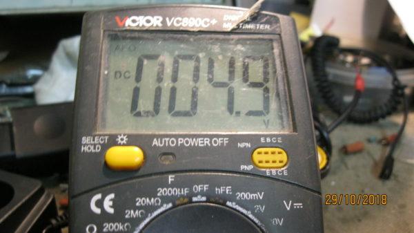 Ремонт ресанта 160 напряжение на переменном резисторе