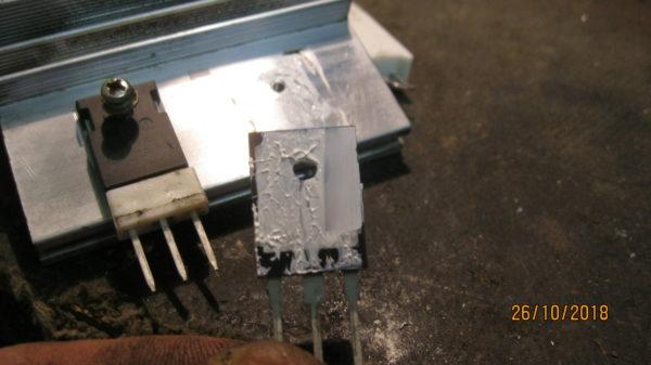 Проверка силовых IGBT транзисторов в сварочном аппарате ресанта 190 ПРОФ