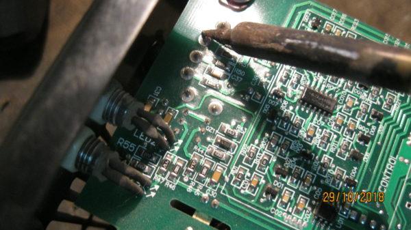 Ремонт сварочного инвертора Ресанта 160 замена переменного резистора