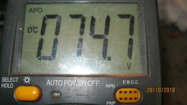 Выходные напряжения на сварочном аппарате FoXWeld Мастер 202