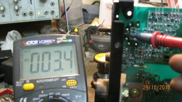 Проверка нового переменного резистора регулировки тока ресанта 160