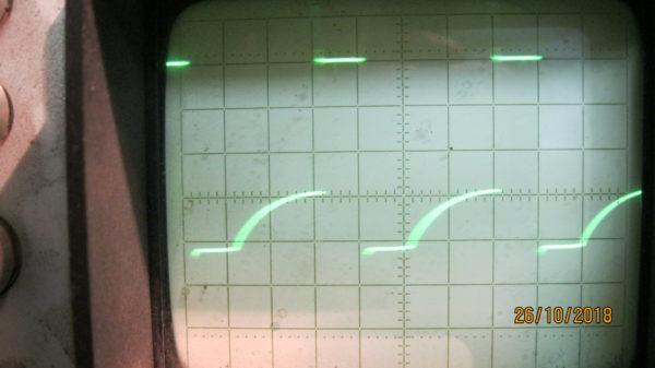 Правильная форма сигнала на транзисторах в сварочном аппарате ресанта 250