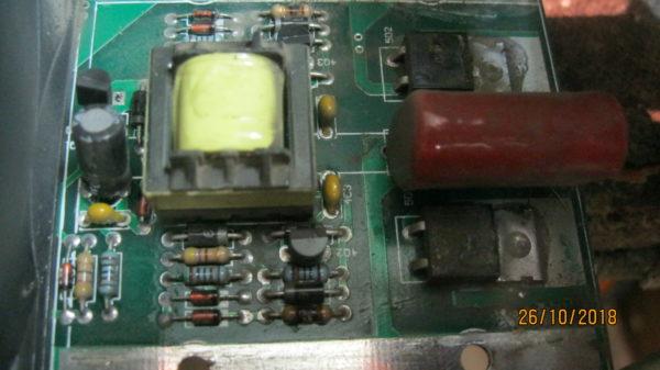 Схема раскачки силовых транзисторов Ресанта 250