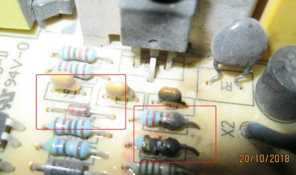 Типичная неисправность зарядного устройства Bosch