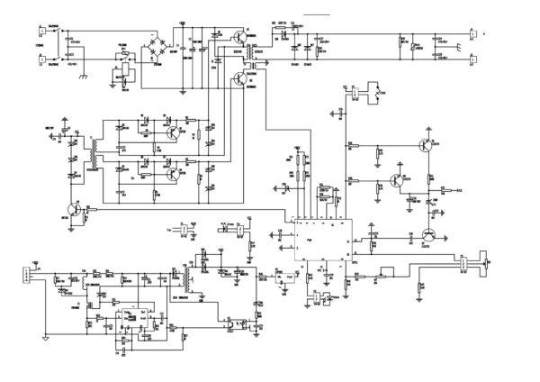 Схема сварочного аппарата MAXCUT