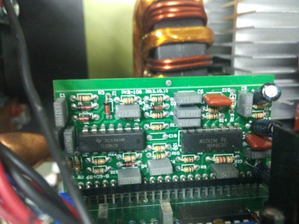 Схема модуль управления сварочного аппарата Rucelf TL084 UC3846